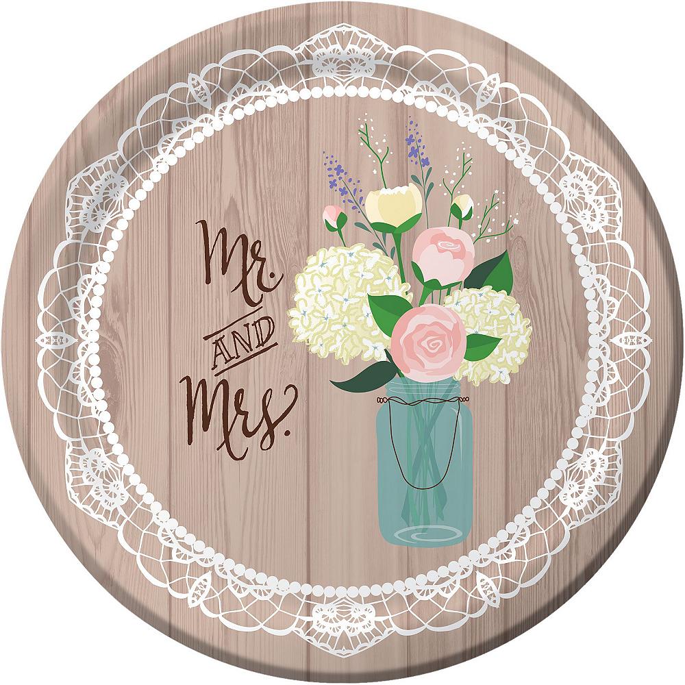 Rustic Bridal Shower Tableware Kit for 50 Guests Image #3