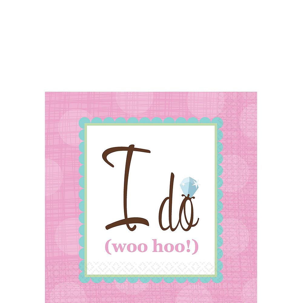 Iridescent Bridal Shower Tableware Kit Image #2