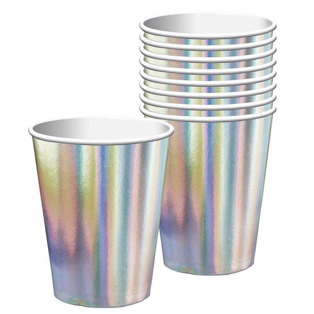 Iridescent Bridal Shower Tableware Kit Image #3