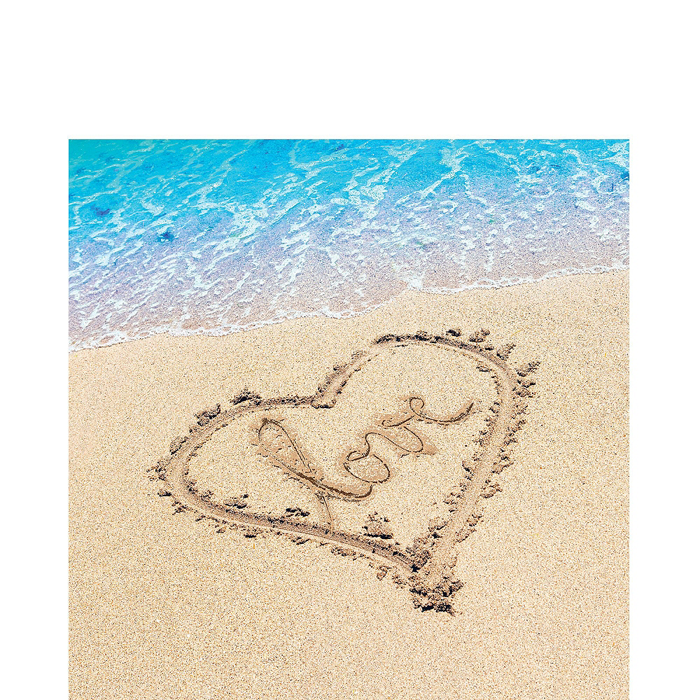 Beach Love Wedding Tableware Kit for 50 Guests Image #5