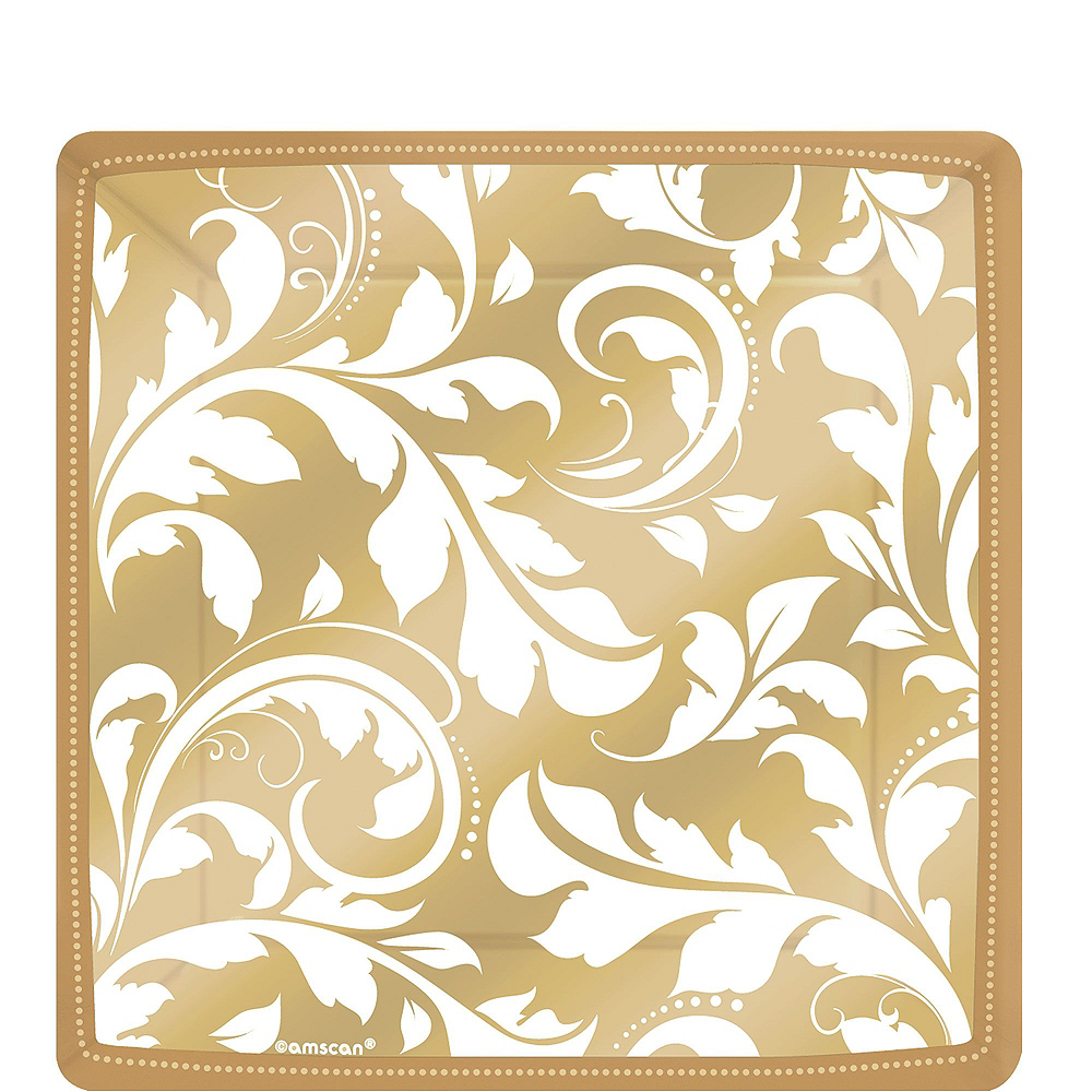Gold Wedding Tableware Kit for 50 Guests Image #2