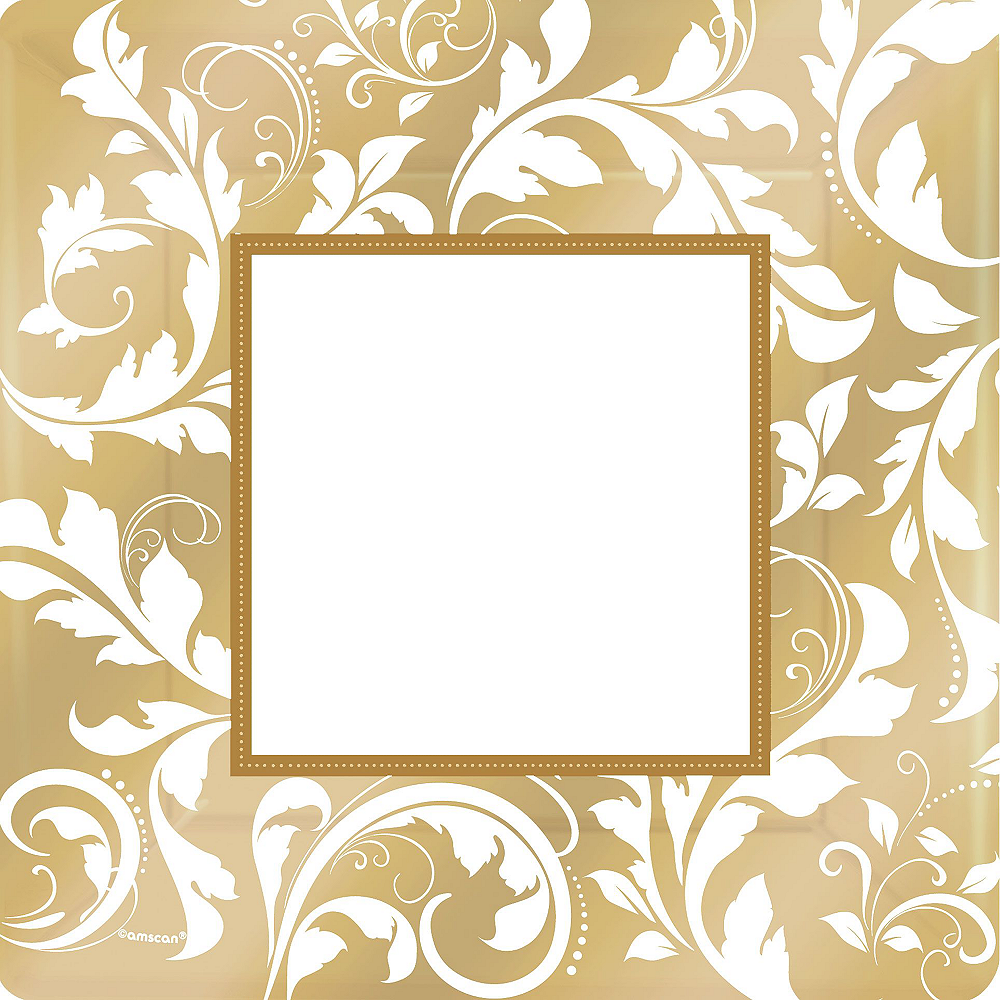 Gold Wedding Tableware Kit for 50 Guests Image #3