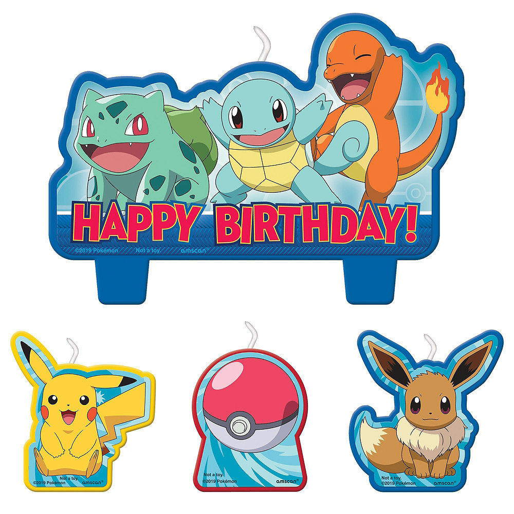 Classic Pokemon Tableware Party Kit for 8 Guests Image #8