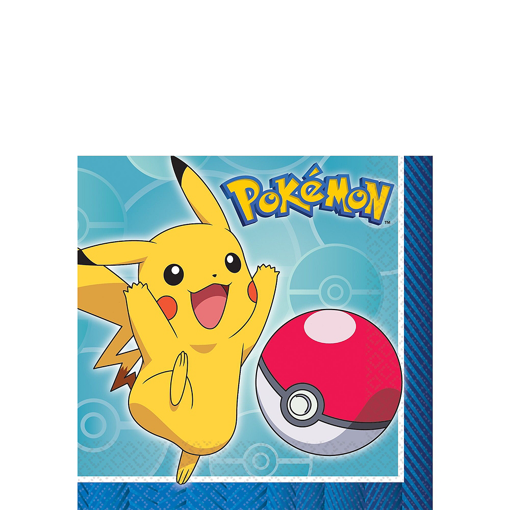 Classic Pokemon Tableware Party Kit for 16 Guests Image #4