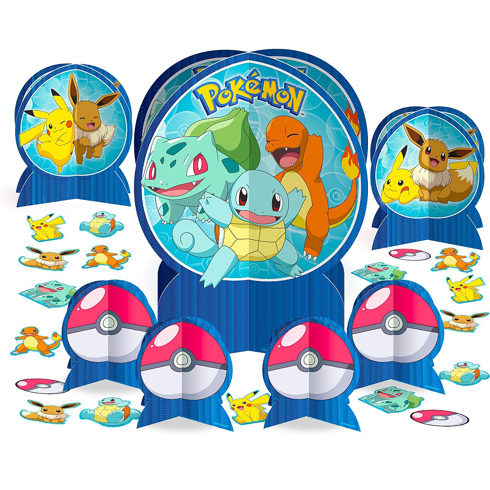 Classic Pokemon Tableware Party Kit for 24 Guests Image #9