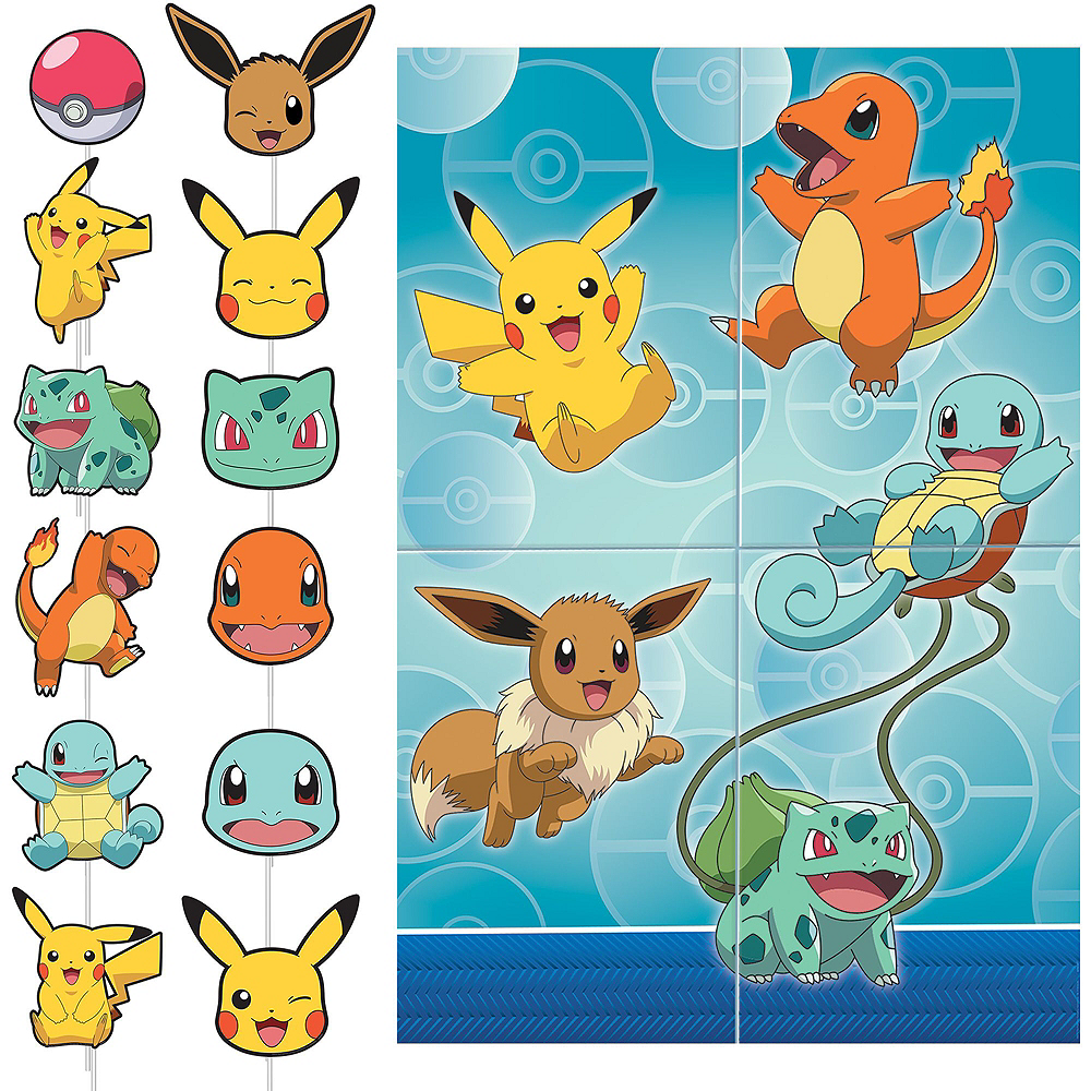 Ultimate Classic Pokemon Tableware Party Kit for 16 Guests Image #16
