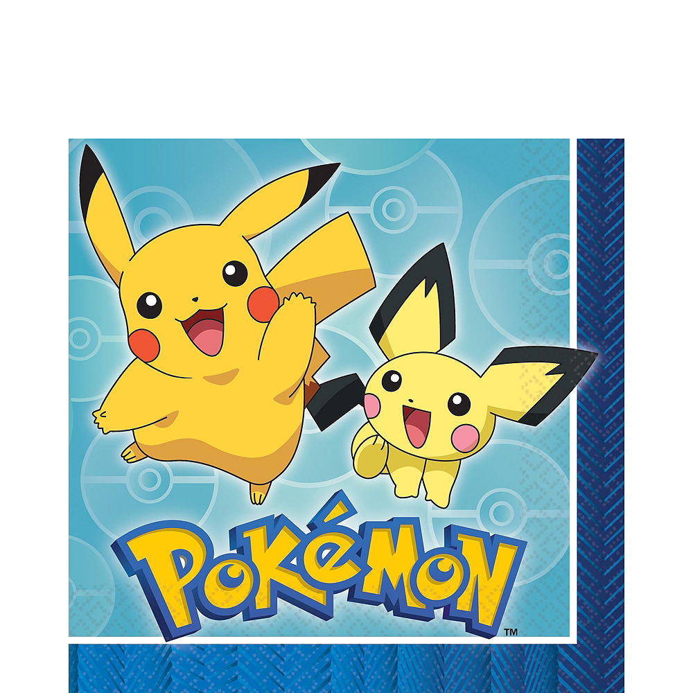 Nav Item for Ultimate Classic Pokemon Tableware Party Kit for 24 Guests Image #5
