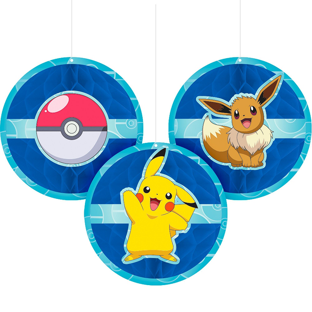Nav Item for Ultimate Classic Pokemon Tableware Party Kit for 24 Guests Image #9