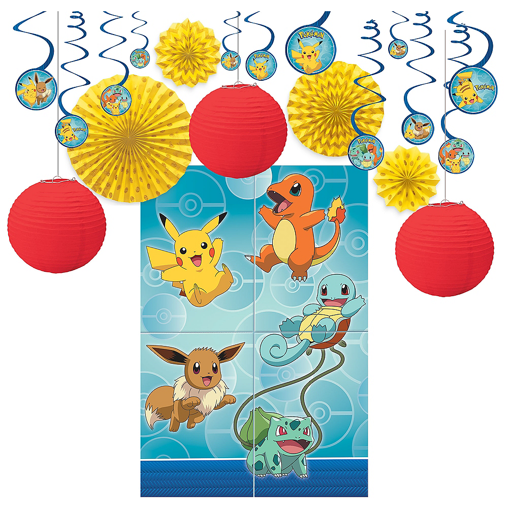 Classic Pokemon Decoration Kit Image #1