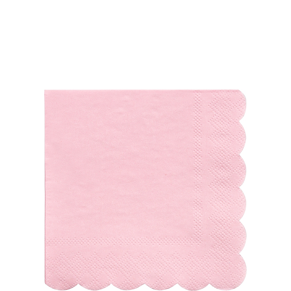 Eco-Friendly Meri Meri Pale Pink Beverage Napkins 20ct Image #1