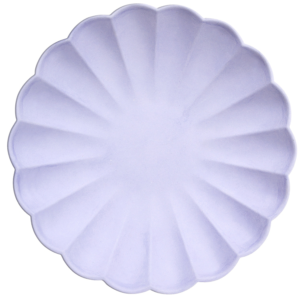 Eco-Friendly Meri Meri Pale Blue Lunch Plates Image #1