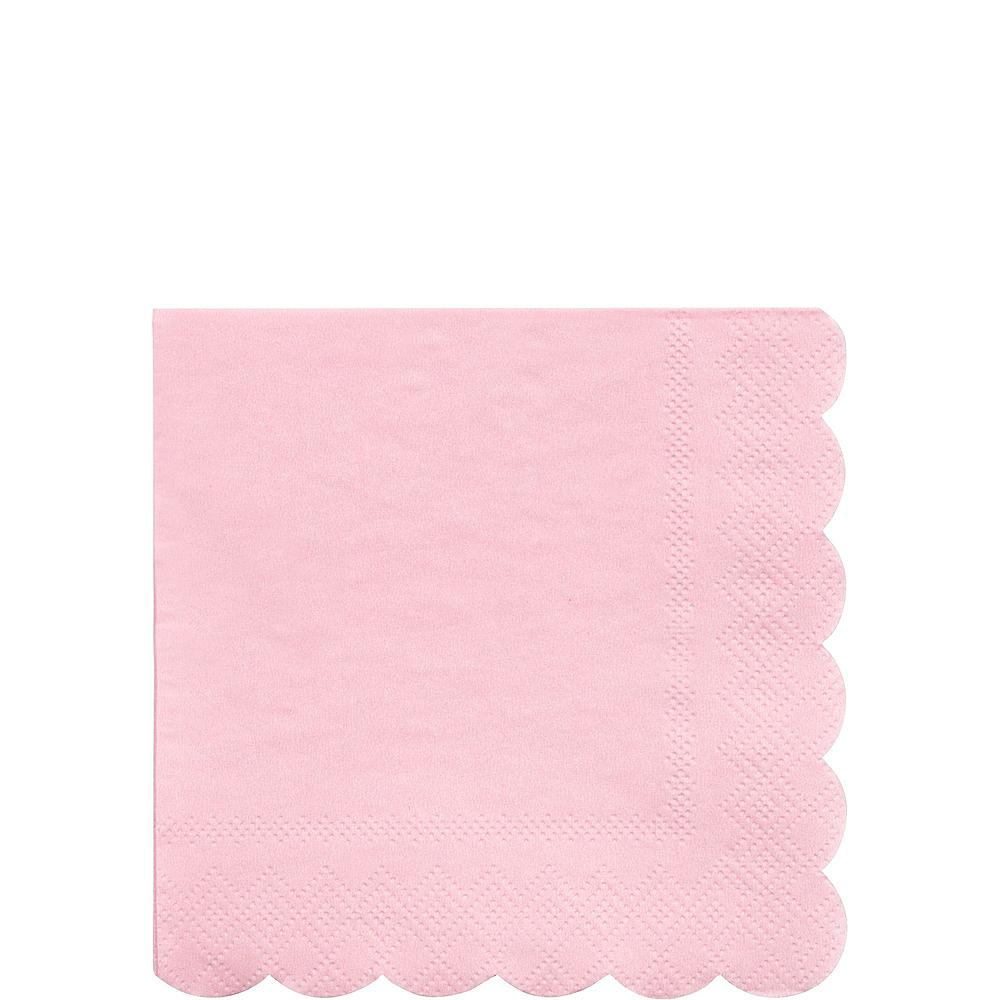 Eco-Friendly Meri Meri Pale Pink Tableware Kit for 16 Guests Image #4
