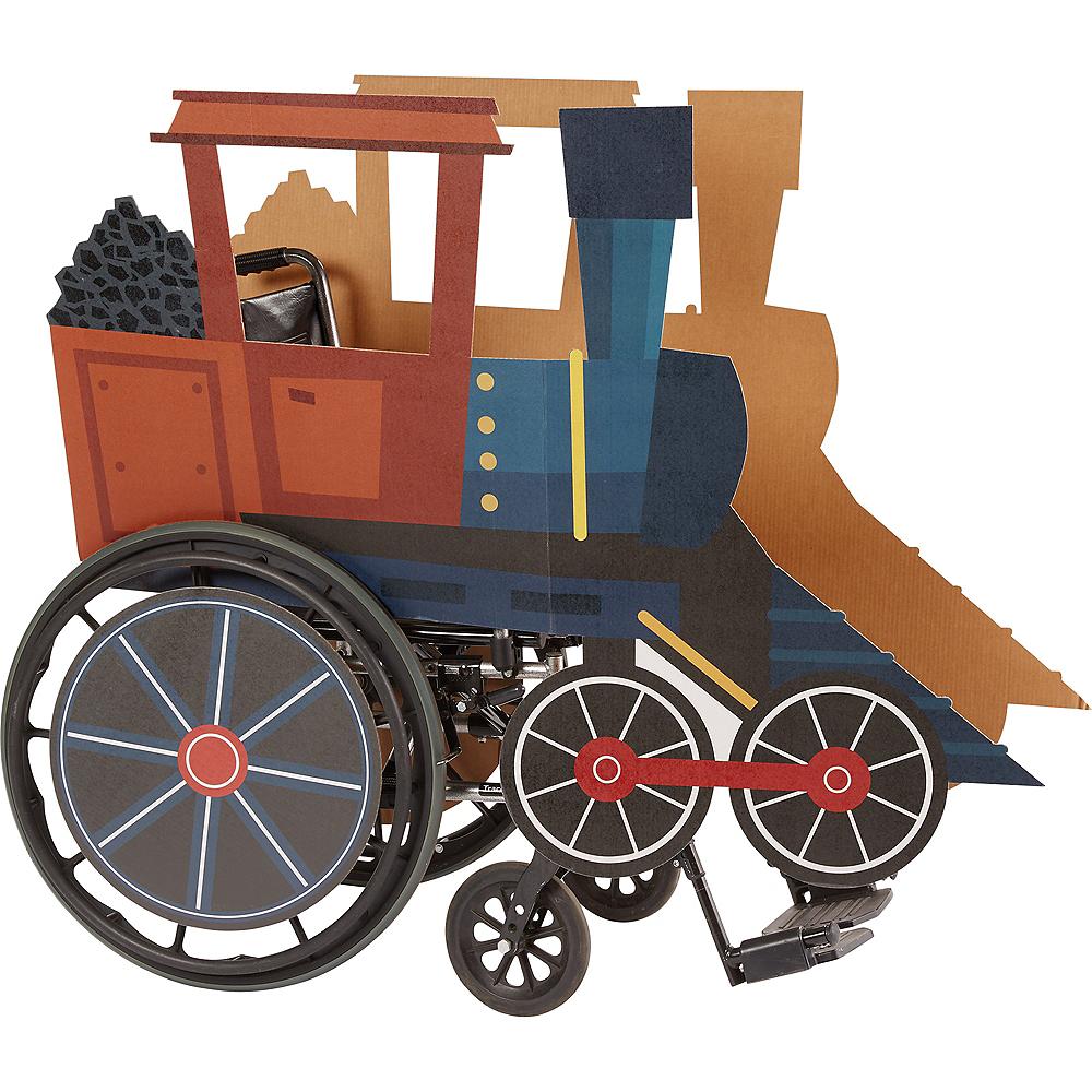 Child Wheelchair Steam Train Costume Image #1