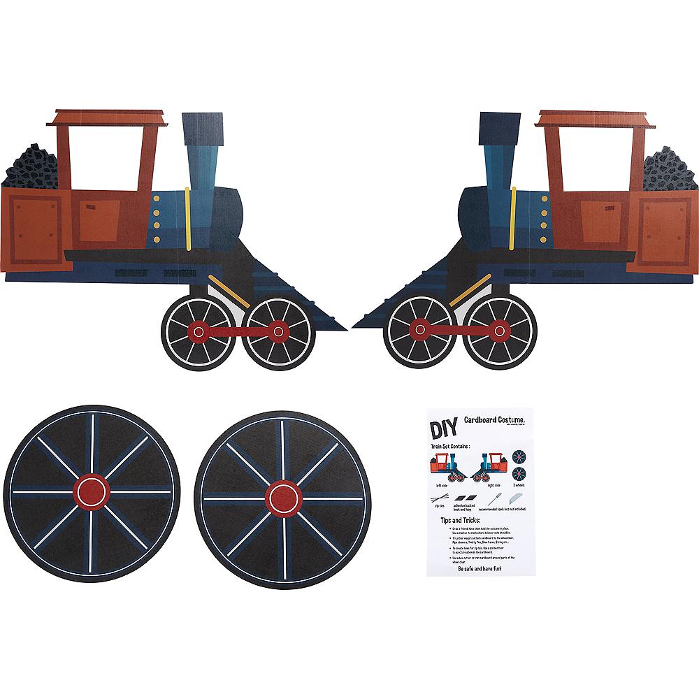 Child Wheelchair Steam Train Costume Image #2