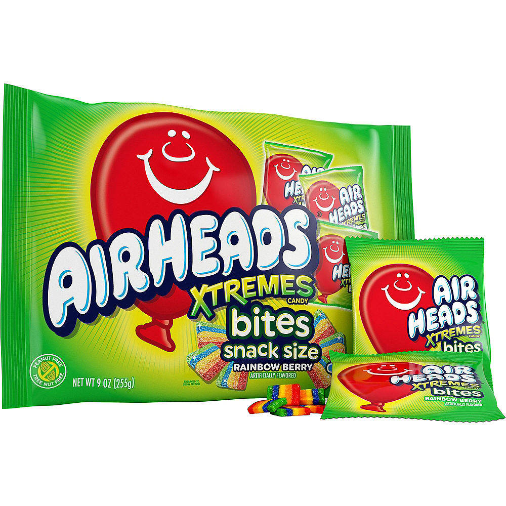 Airheads Xtremes Bites Rainbow Berry Image #1