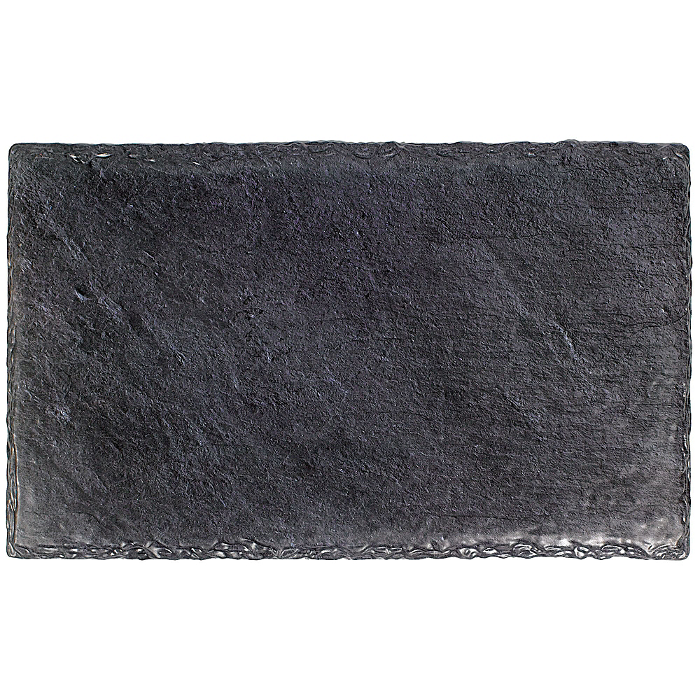 Faux Black Slate Melamine Rectangular Cheese Board Set Image #4