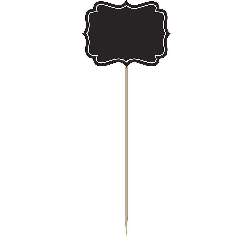 Faux Black Slate Melamine Round Cheese Board Set Image #4