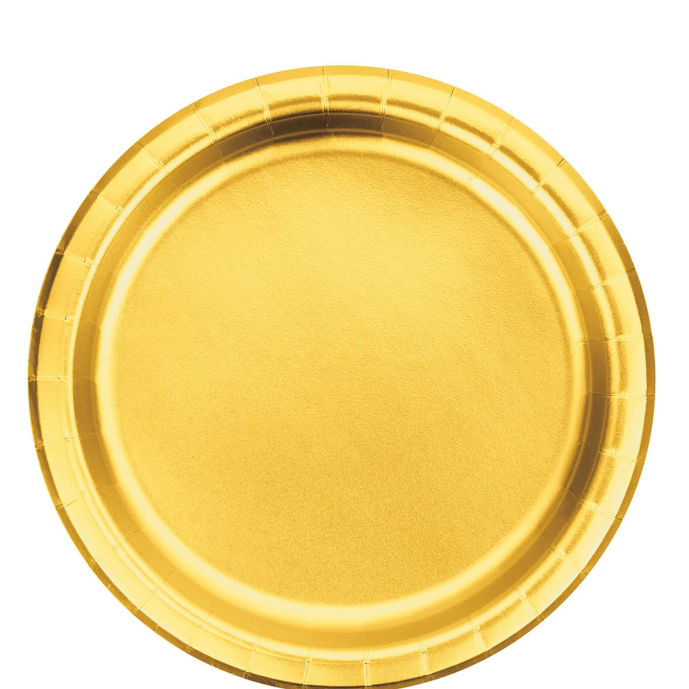 Metallic Gold Lunch Kit for 16 Guests Image #3