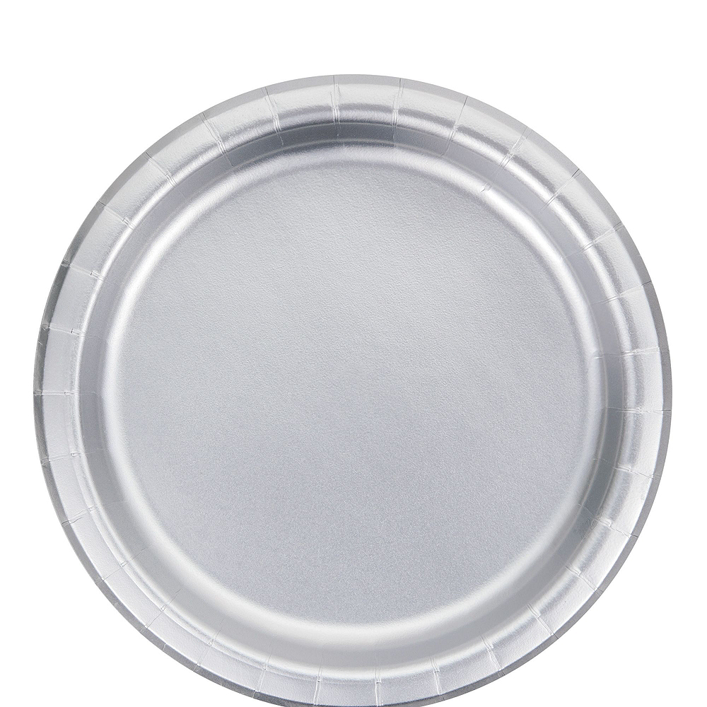 Metallic Silver Lunch Kit for 16 Guests Image #3