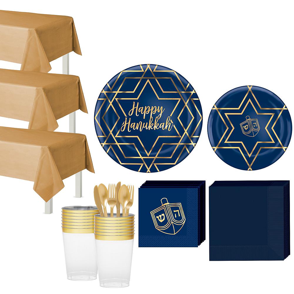 Hanukkah Celebration Tableware Kit for 40 Guests Image #1
