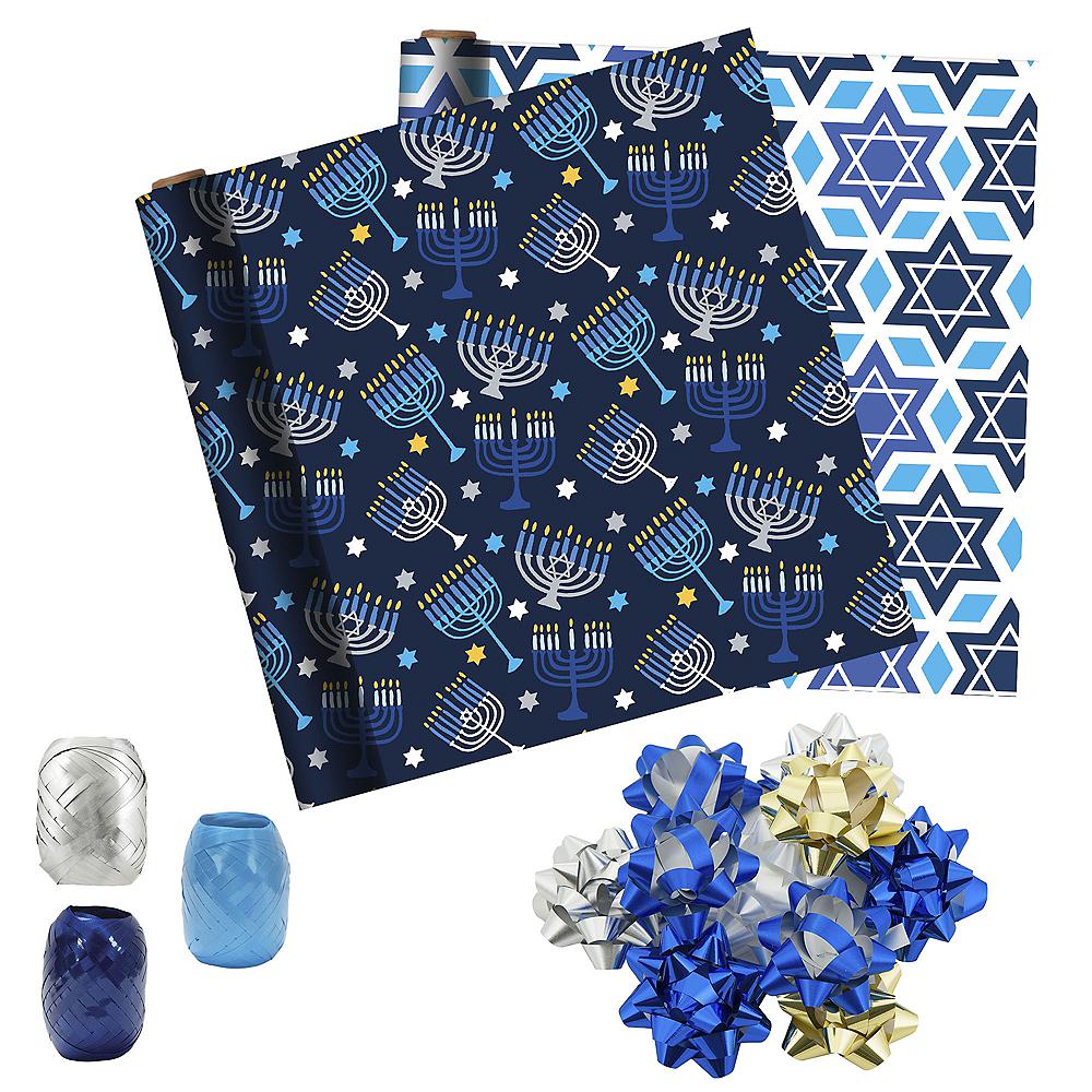 Hanukkah Gift Wrap Kit Image #1