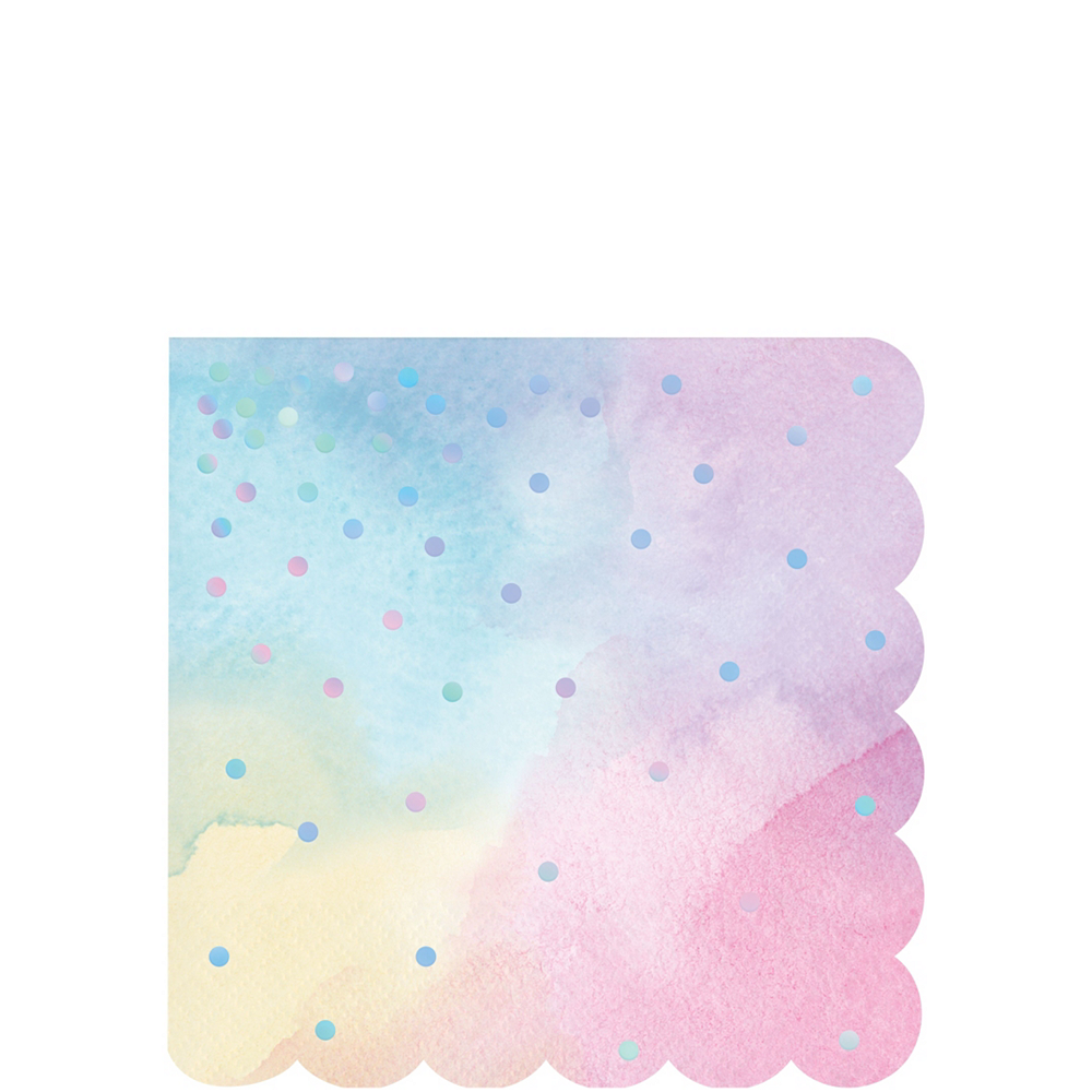 Iridescent Pastel Party Kit for 16 Guests Image #4