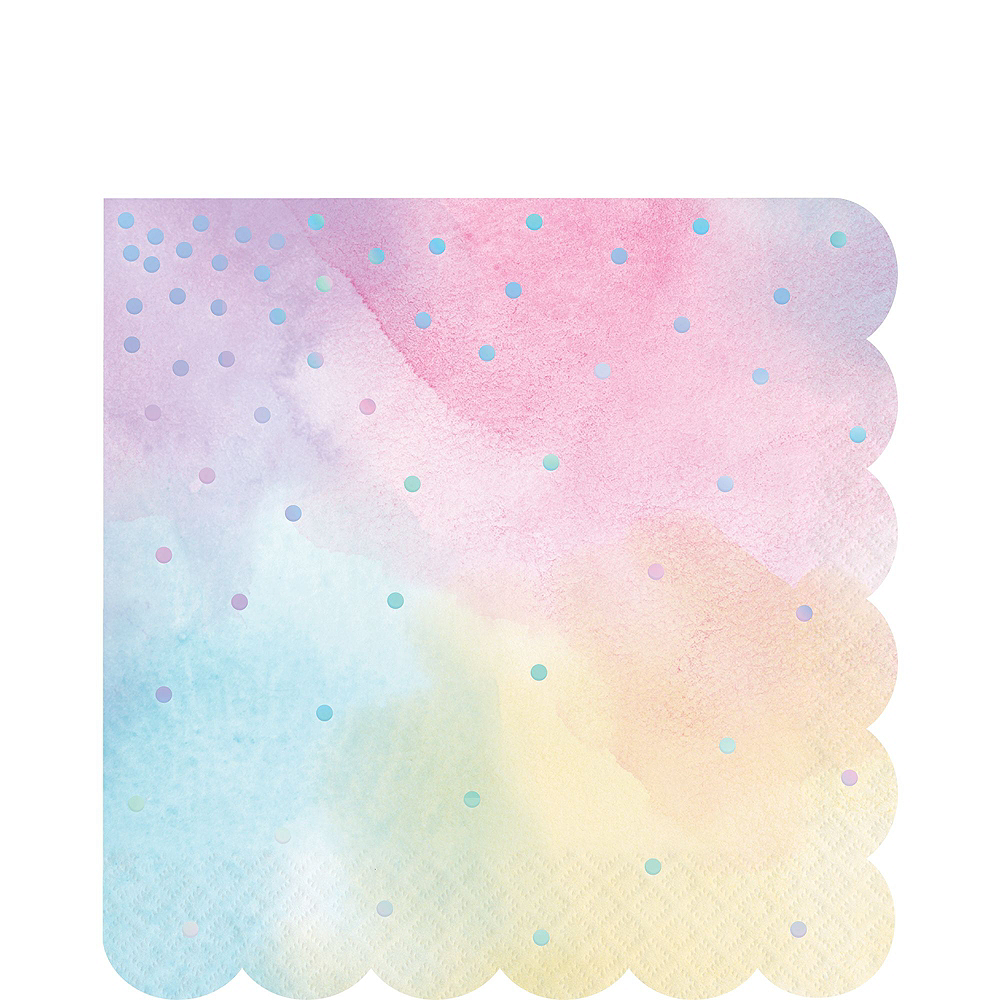 Iridescent Pastel Party Kit for 16 Guests Image #5