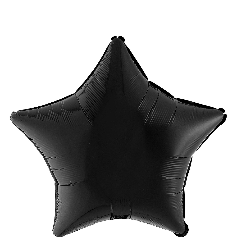Air-Filled Black & Gold New Year's Eve Balloon Kit Image #6