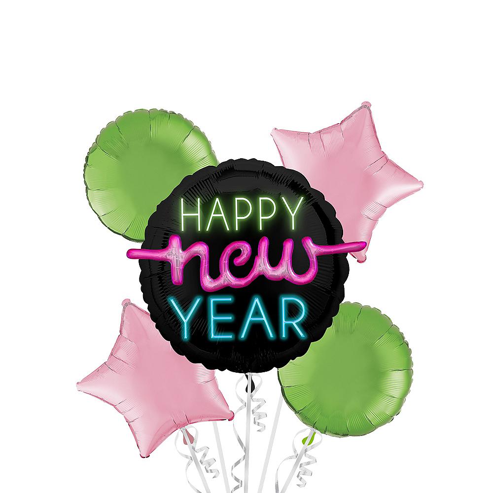 New Year's Glow Balloon Kit Image #1