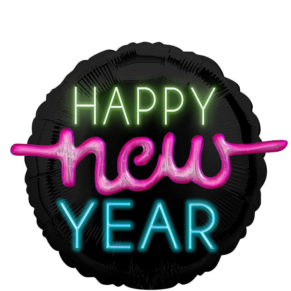 New Year's Glow Balloon Kit Image #5