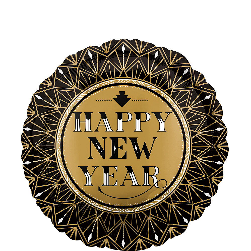 Roaring 20s New Year's Eve Balloon Kit Image #5