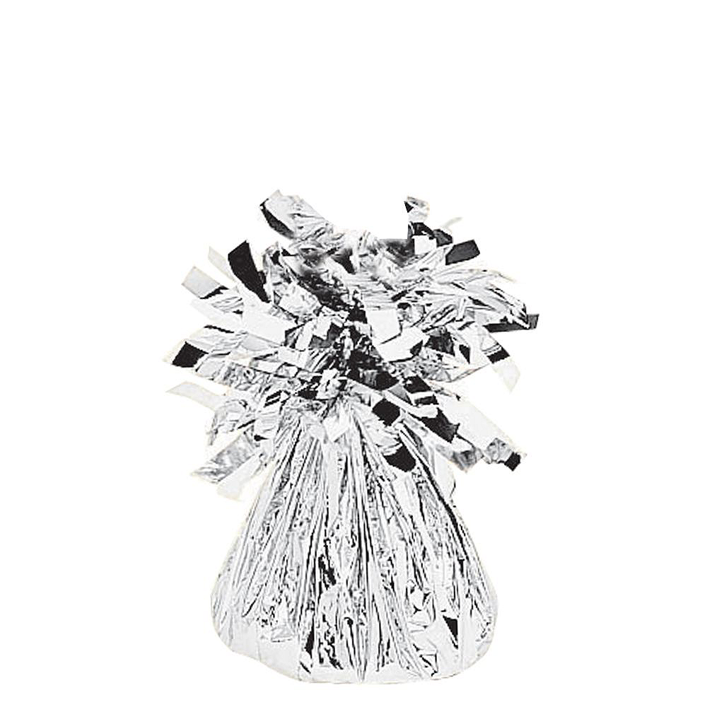 Silver New Year's Eve Balloon Kit Image #4