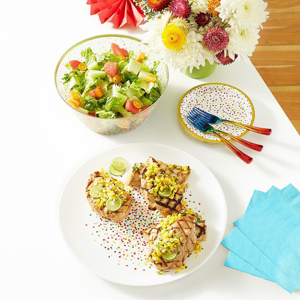 Rainbow Confetti Serveware Kit Image #1