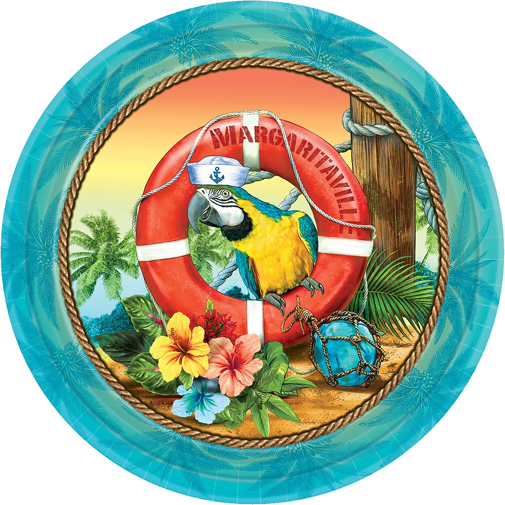 Basic Margaritaville Tableware Kit for 50 Guests Image #2