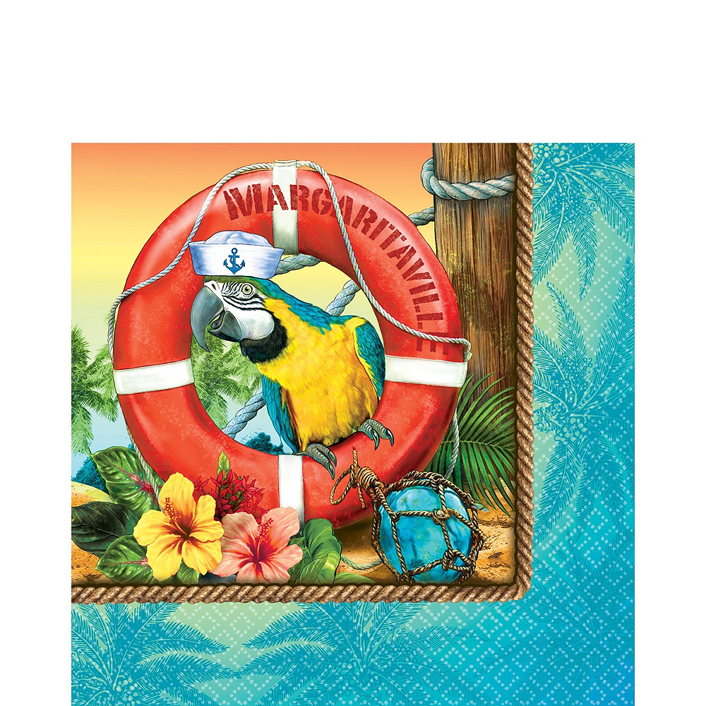 Basic Margaritaville Tableware Kit for 50 Guests Image #3