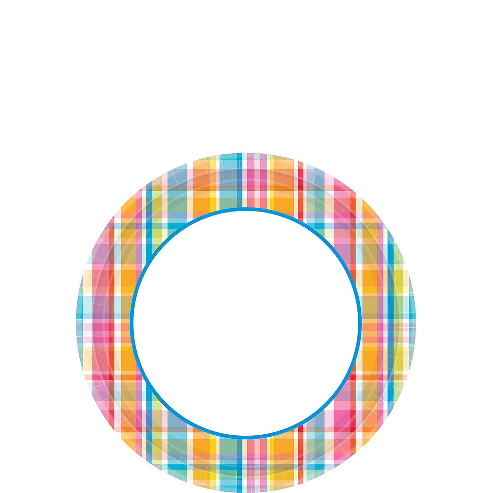 Bright Border Plates for 120 Guests Image #2
