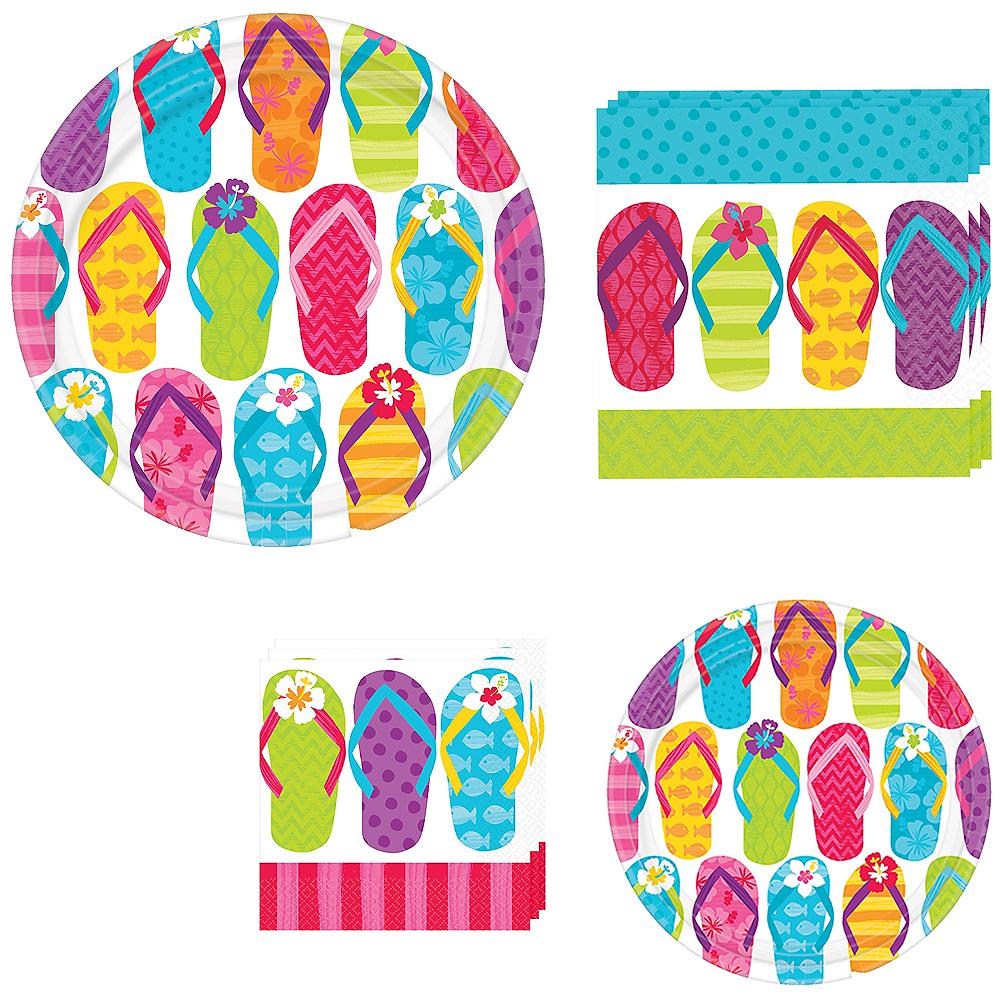Flip Flop Tableware Kit for 60 Guests Image #1