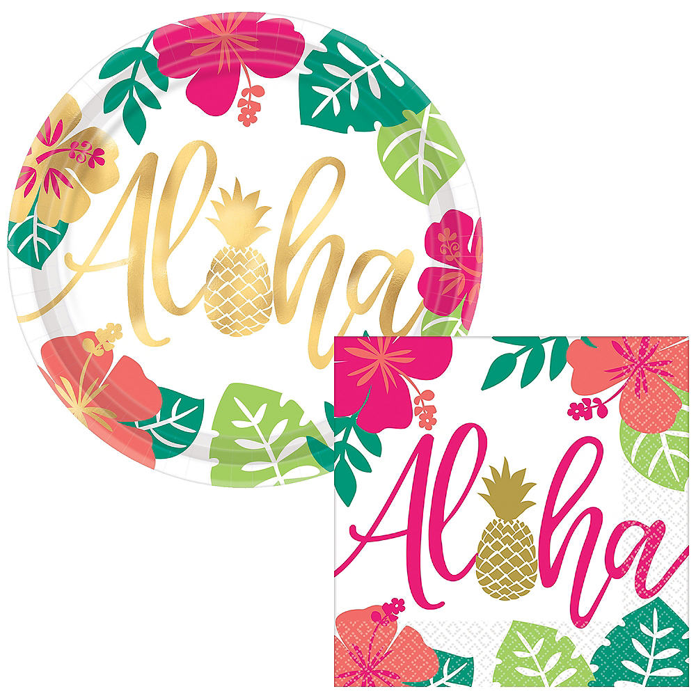 Basic Aloha Tableware Kit for 60 Guests Image #1