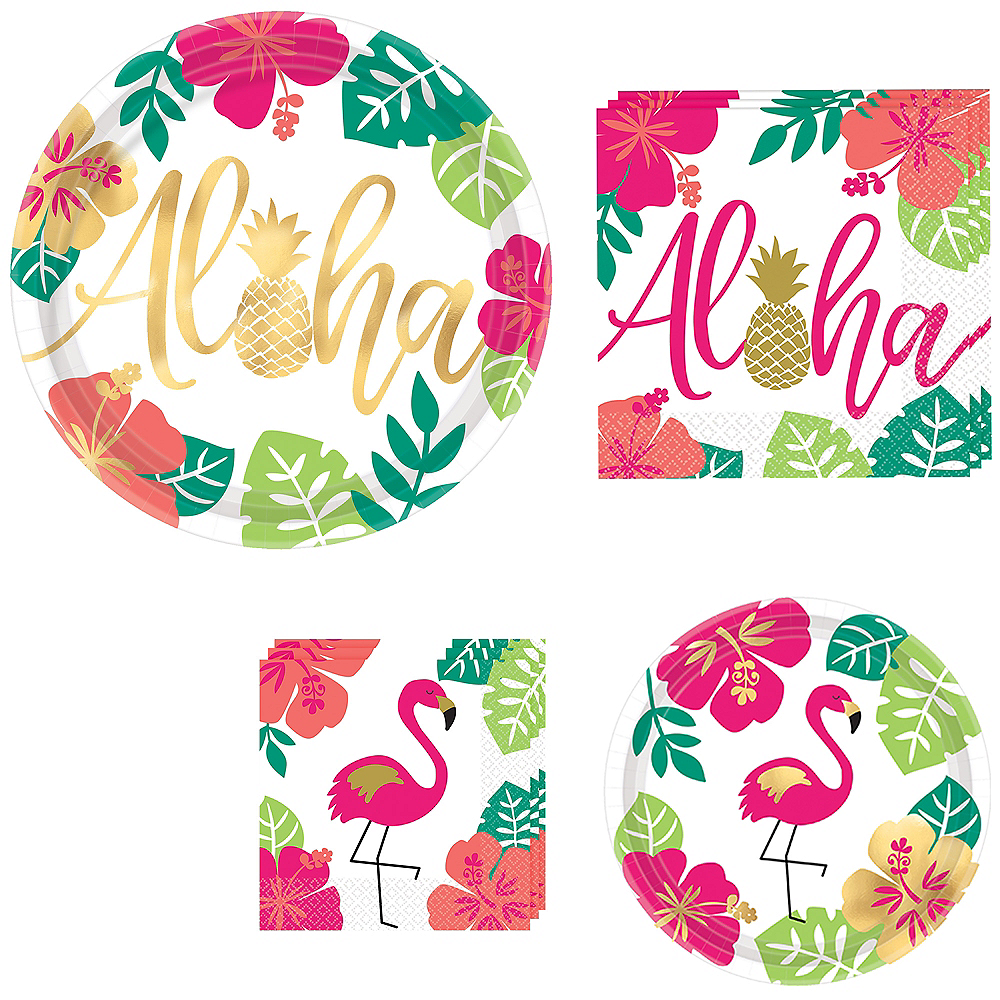 Aloha Tableware Kit for 60 Guests Image #1