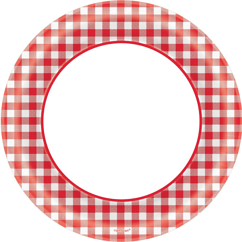 Nav Item for Picnic Gingham Tableware Kit for 120 Guests Image #3