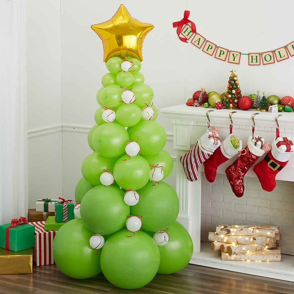 Nav Item for Green Balloon Christmas Tree Kit Image #1