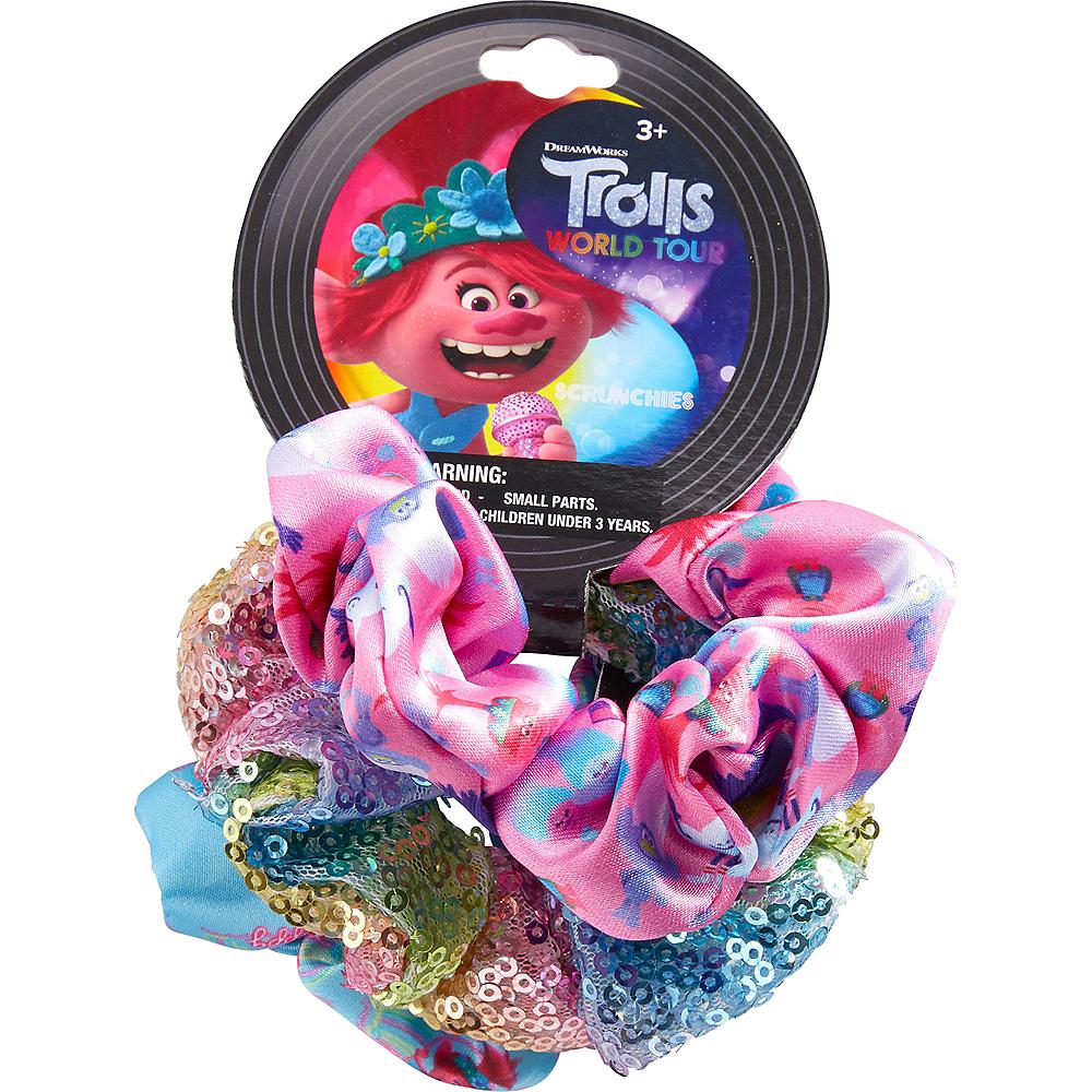 Trolls World Tour Scrunchies 3ct Image #2