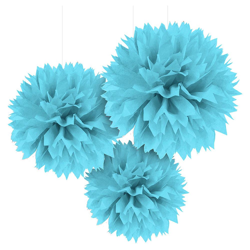 Caribbean Blue, Green & Royal Blue Decorating Kit Image #3