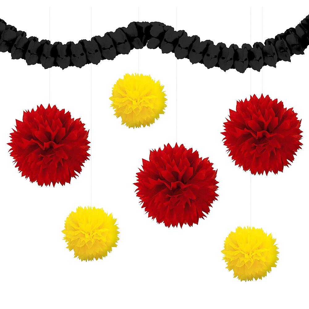 Black, Red & Yellow Decorating Kit Image #1