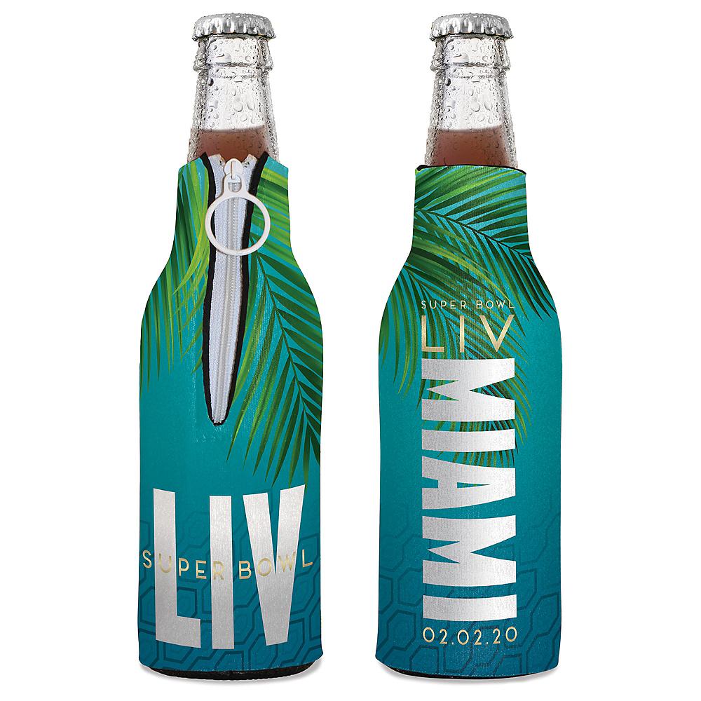 Super Bowl Bottle Coozie Image #1