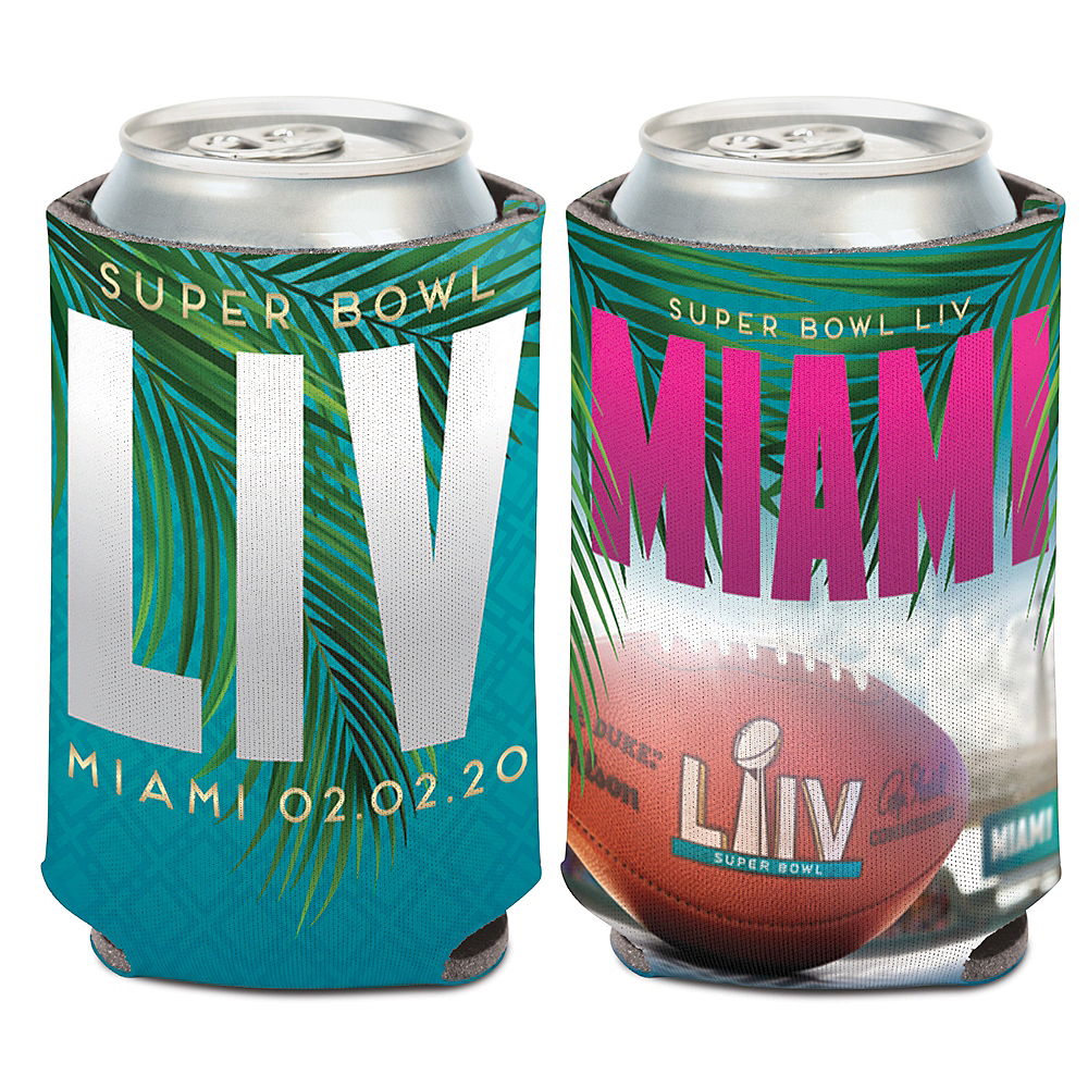 Super Bowl Can Coozie Image #1