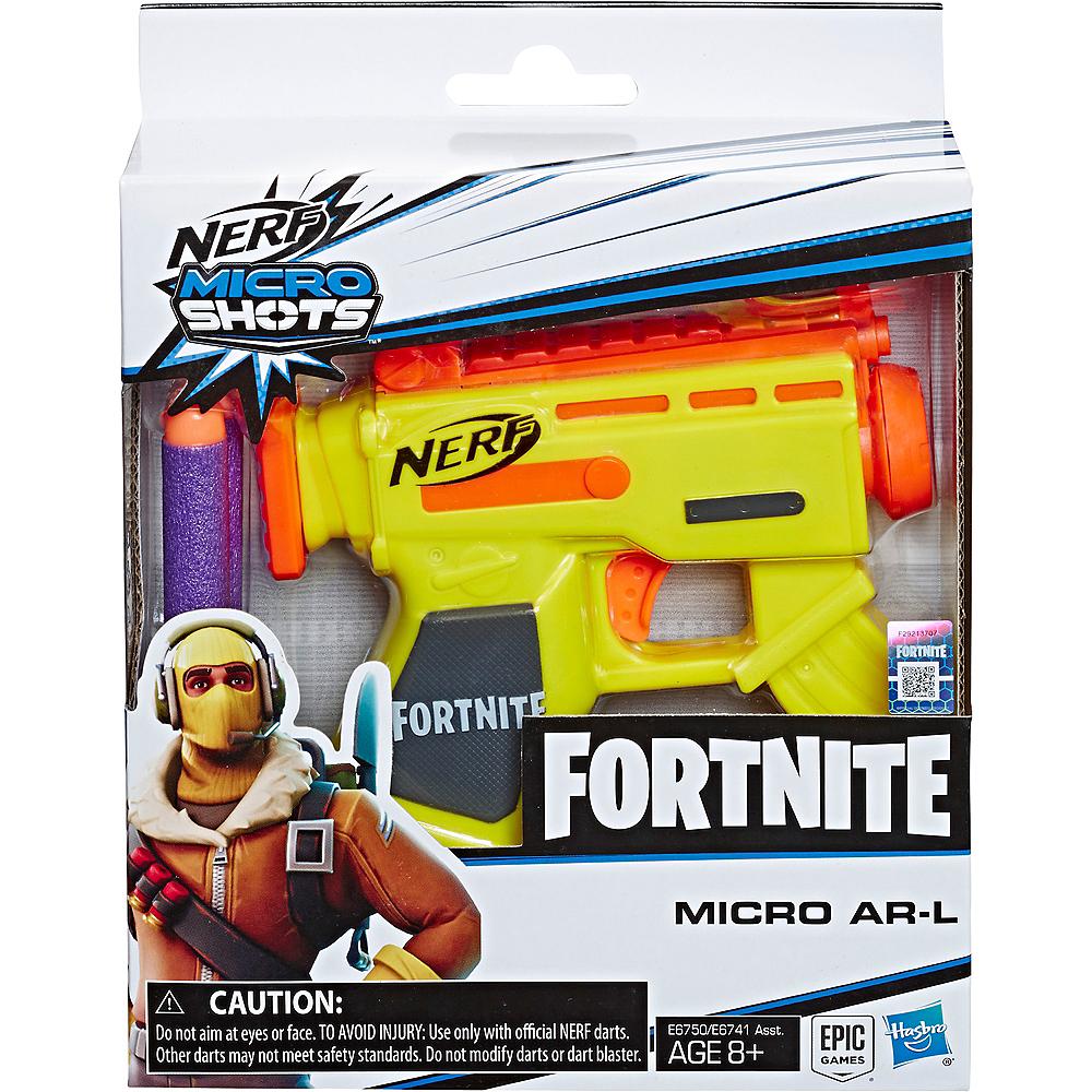 Nerf MicroShots AR-L Blaster Fortnite Image #2