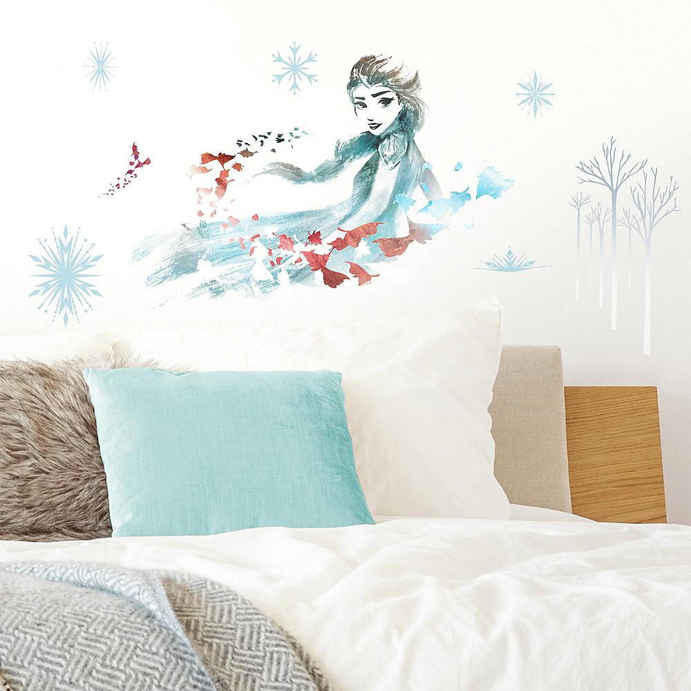 Watercolor Elsa Wall Decals 10ct - Frozen 2