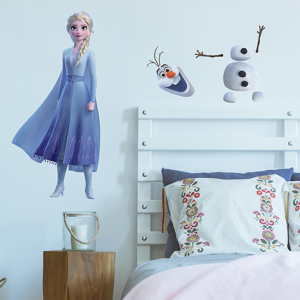 Elsa and Olaf Wall Decals – 26ct Frozen 2 Image #1