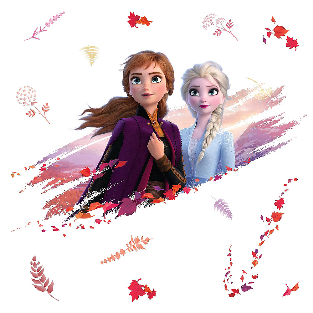Nav Item for Anna & Elsa Wall Decals 15ct - Frozen 2 Image #2